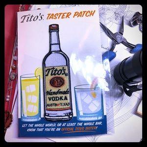 New Tito's Vodka Patch